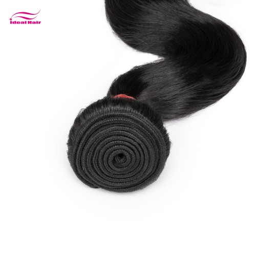 Red Rubber Band Virgin Hair Body Wave
