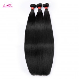 Red Rubber Band Virgin Hair Straight