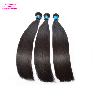 Brazilian hair natural straight