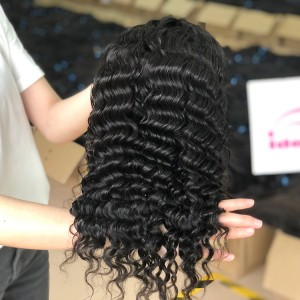 150% Lace Front Wig Deep Wave