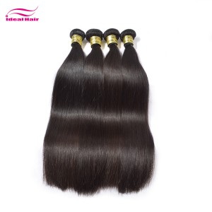 Peruvian hair natural straight