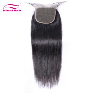 Lace closure 5x5 natural straight