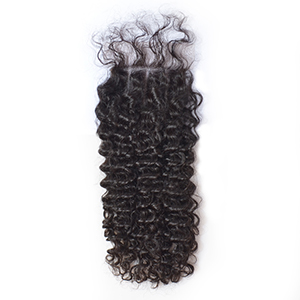 Brazilian Lace closure tiny curly