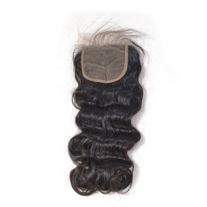 Lace closure 4*4 loose wave