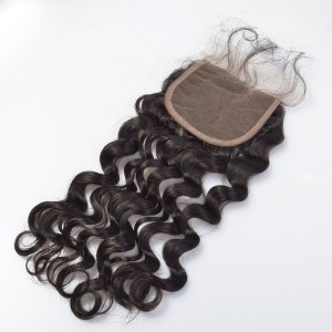 New hair lace closure 4*4 deep wave